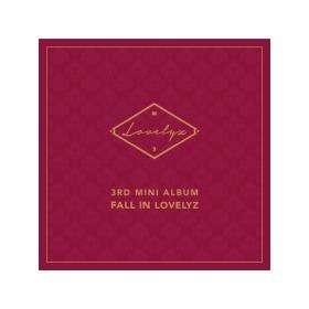 Lovelyz - 3rd Mini Album (Fall In Lovelyz) / Special photocard+Photo sticker