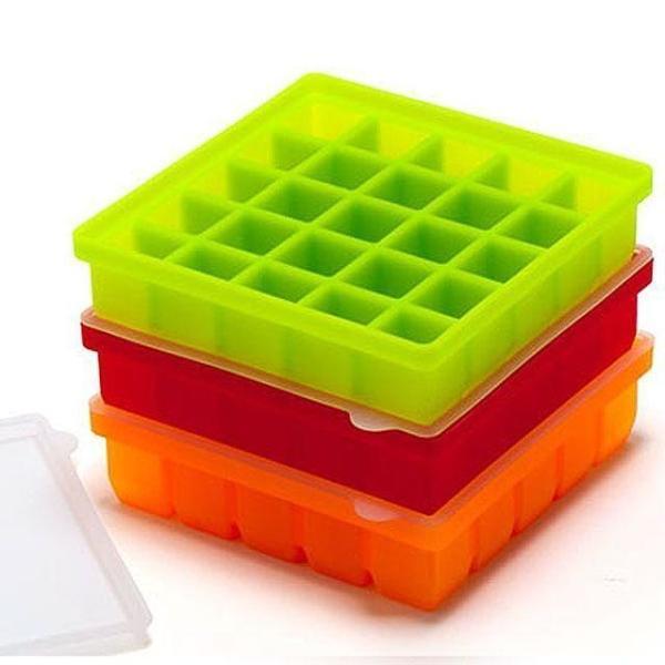 실리콘 얼음 틀 (25구) 주방용품 디스펜서 상품이미지