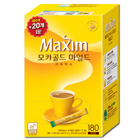 모카골드 커피믹스 180T: 커피는 맥심 ~