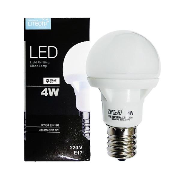 라이톤  LED미니크립톤 E14/E17 4W 상품이미지