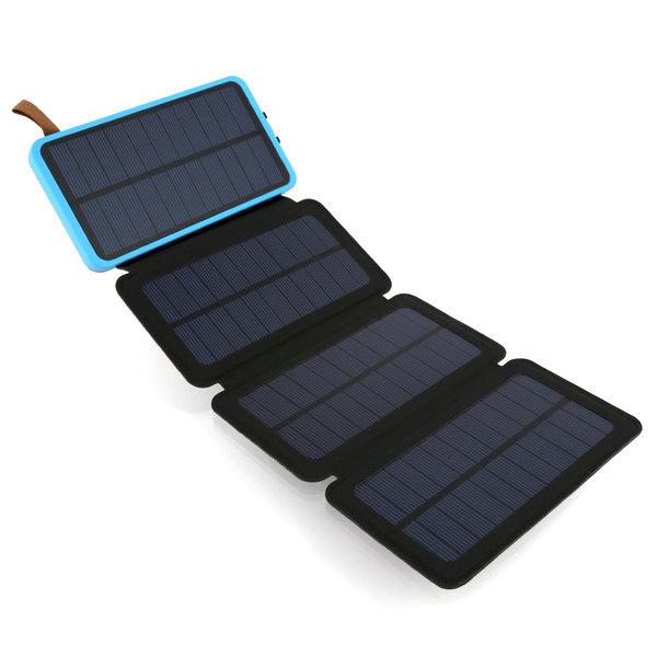 태양광 충전 보조 배터리 4판넬 8000mAh NEXT 8004FSC 상품이미지