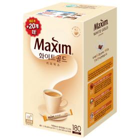 White Gold 180 Sticks+CASHBAG//YUNA Coffee Maxim White