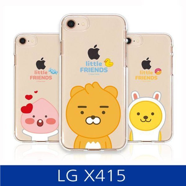LG X4플러스. 카카오 프렌즈 투명 젤리 폰케이스 X4 상품이미지