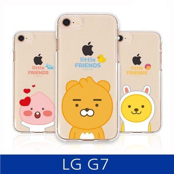 LG G7. 카카오 프렌즈 투명 젤리 폰케이스 상품이미지