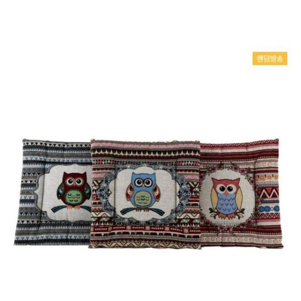 부엉이 방석(디자인 램덤발송) 상품이미지