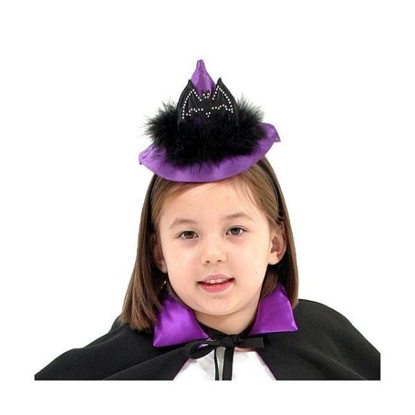 퍼플 벳 마녀 모자 머리띠  할로윈 파티 클럽 용품 상품이미지