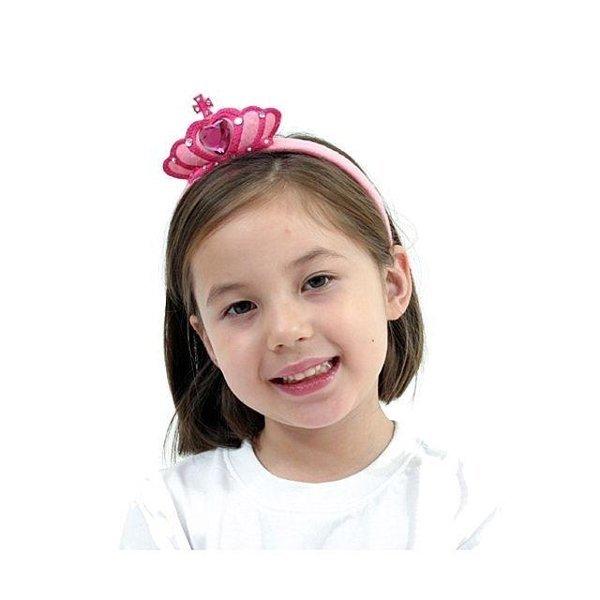 핑크 큐빅 왕관 머리띠 할로윈 파티 클럽 용품 소품 상품이미지