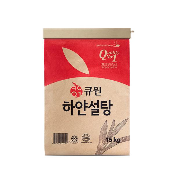 삼양 하얀설탕 15kg White Sugar 백설탕 흰설탕 상품이미지