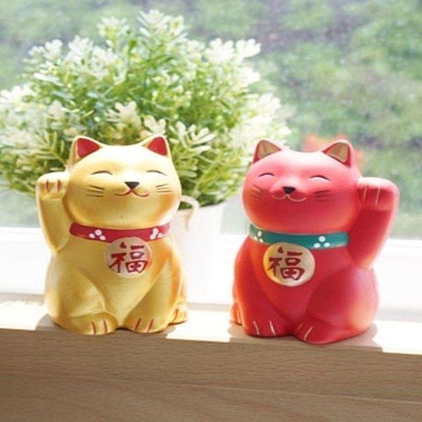 오사카 야옹이 홈데코 인테리어 장식 소품 2종 상품이미지