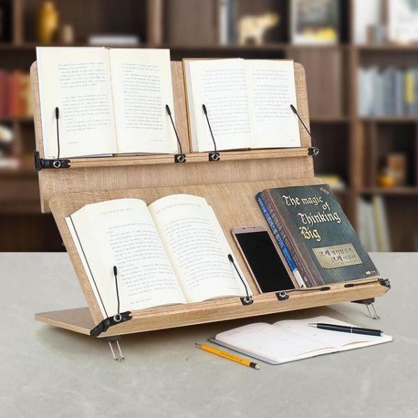 204D 독서대/각도조절 2단 대형 독서받침대 필기용 상품이미지