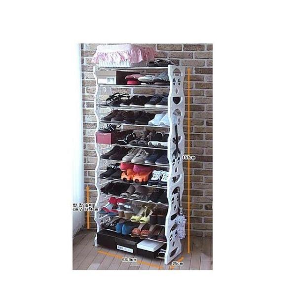 오픈 신발정리대11단 상품이미지