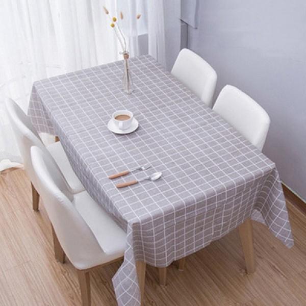 식탁매트 테이블매트 격자매트 디자인 코팅 직사각 식 상품이미지