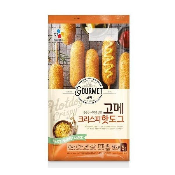 오플  CJ제일제당 고메핫도그 4봉 24개 상품이미지