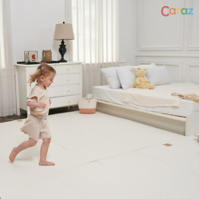 Caraz SECRET Folder 4-panel wide (140x200x4cm)/reduces noise between floors