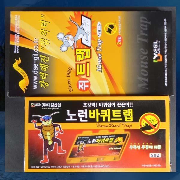 D133/바퀴트랩/쥐트랩/바퀴벌레퇴치/쥐끈끈이/쥐잡기 상품이미지