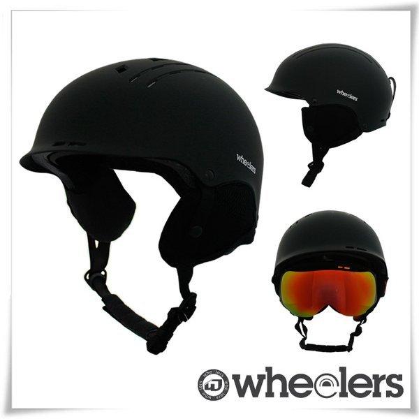 휠러스  스노우보드 헬멧100  사이즈조절형 /턱보호패드/매트질감 4종 택1 상품이미지