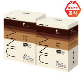 카누 더블샷라떼 30TX2개 +메모패드세트/쿠폰가15900원