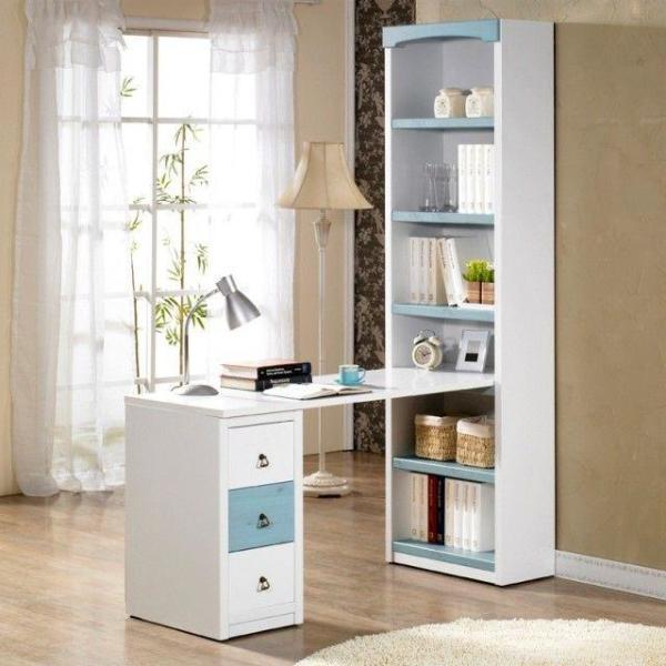 K2061 코지 h형 책상세트 1500 서재책상 상품이미지