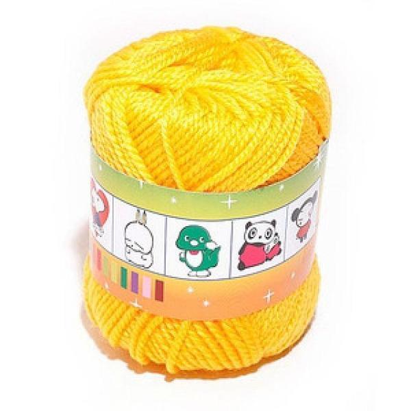 털실(노랑-45g) 사무용품 문구 교재류 준비물 실과 상품이미지