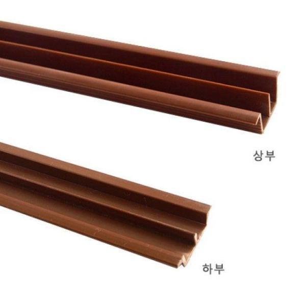 PVC유리홈레일(상하1조) 두께5mmX길이184cm 택배발 상품이미지