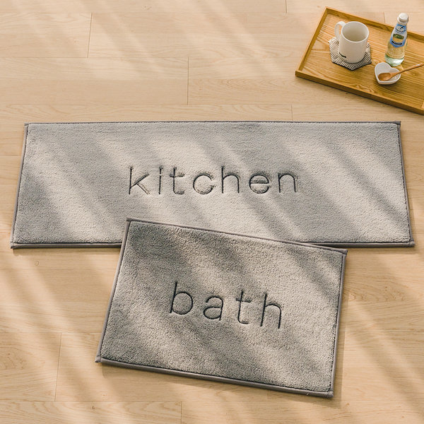 메모리폼 북유럽 극세사 주방 욕실 발매트 5color 특가 상품이미지