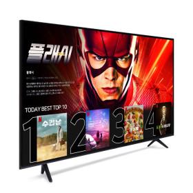 55인치 스마트TV 텔레비전 넷플릭스 4K 티비 삼성패널