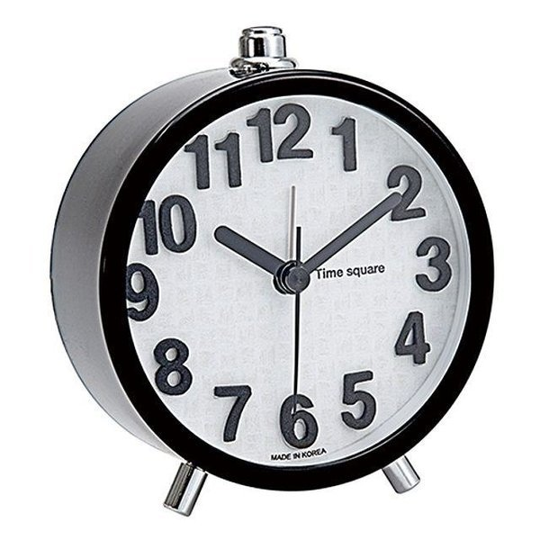 타임스퀘어)블랙모던탁상시계-박스(10개입) 상품이미지