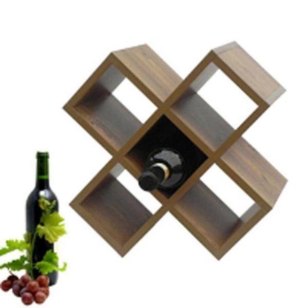 (크로스와인랙) 국내제작 와인랙 와인선반 와인받침 상품이미지