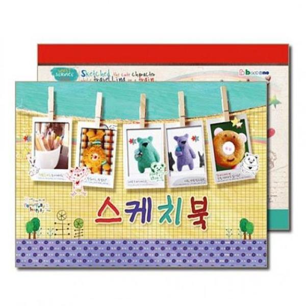 수영 1000초등스케치북 15매 10권 - 34289 상품이미지