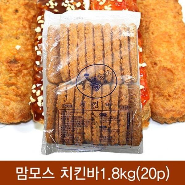 (냉동)맘모스 치킨바1.8kg(20p)x6개 상품이미지