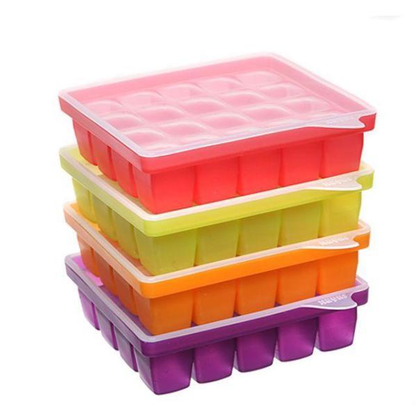 레오 실리콘 칸칸톡톡20구 다용도통 조리용품 얼음 상품이미지