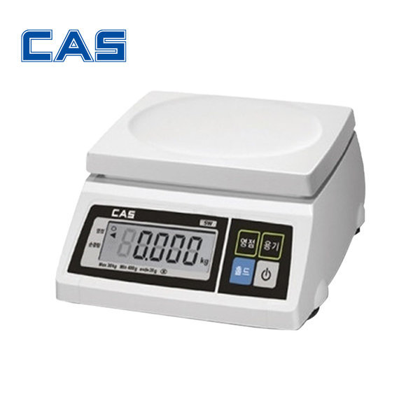 디지털 전자 상업용 이동형 정밀 저울 SW-1S 2kg/1 SW 상품이미지