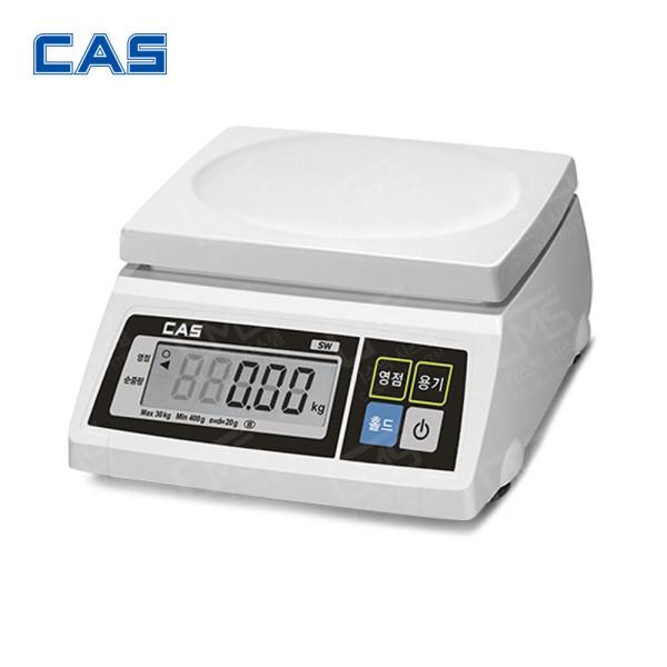 디지털 전자 상업용 이동형 정밀 저울 SW-1S (30kg/10) 상품이미지