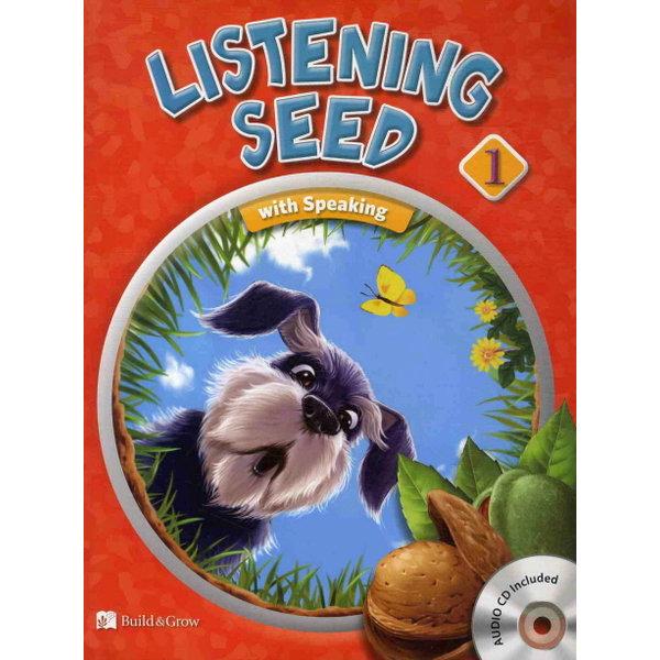 Listening Seed. 1(워크북포함) (CD2장포함) 상품이미지
