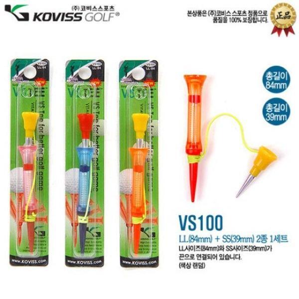 스프링티 VS100 T(색상랜덤) 골프티 골프용품 골프t 상품이미지