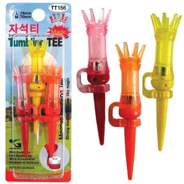 자석티 MAGNET TEE TT156(색상랜덤) 골프티 골프용 상품이미지