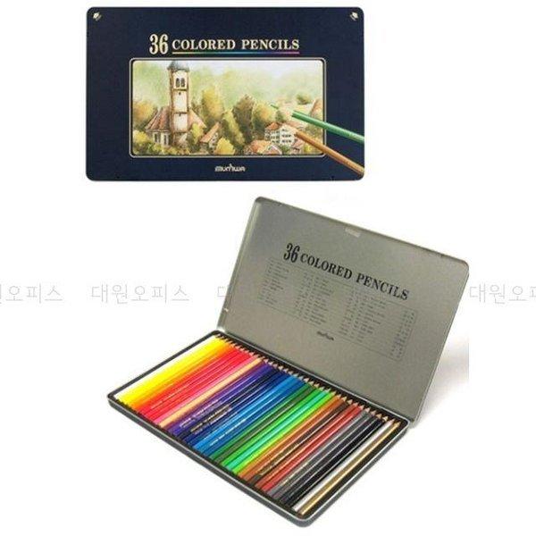 문화 고급 색연필 36색 넥스프로 색연필 상품이미지