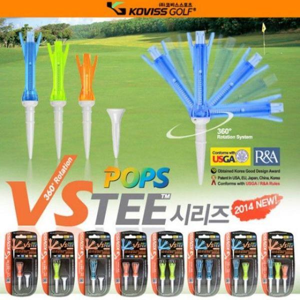 뉴팝스티 NEW VSTEE POPS-V1480(색상랜덤) 골프티 상품이미지