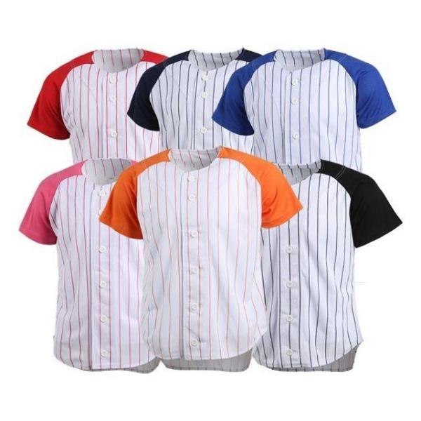 (티셔츠(쿨론티))야구단추티셔츠 반팔 상품이미지