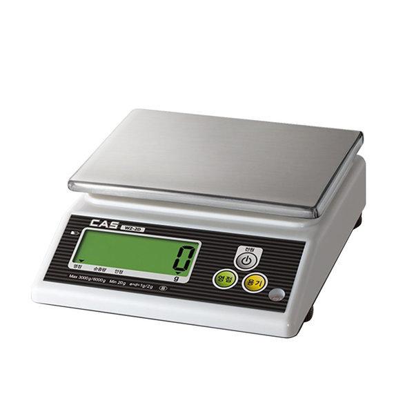 단순 중량 디지털 전자 저울 WZ-2D 6kg/1~2g 주방저울 상품이미지