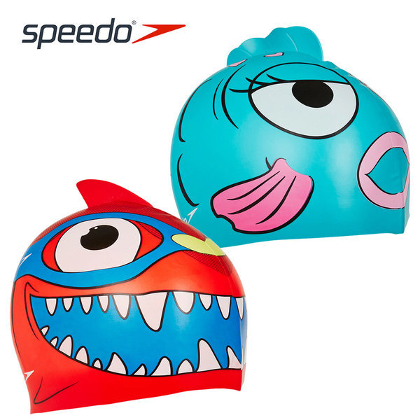 스피도 수모 SA240 씨 스쿼드 캐릭터 실리콘 아동수모 상품이미지