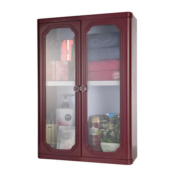 엑센트 D600/욕실장/욕실용품/욕실수납장/ 자주색상 상품이미지