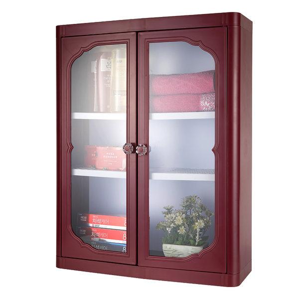 엑센트 D630/욕실장/욕실용품/욕실수납장/ 자주색상 상품이미지