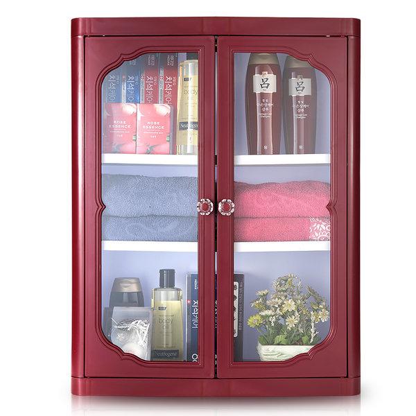 엑센트 D720/욕실장/욕실용품/욕실수납장/ 자주색상 상품이미지