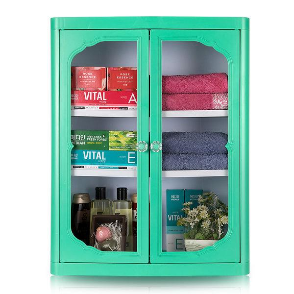 엑센트 D720/욕실장/욕실용품/욕실수납장/ 그린색상 상품이미지