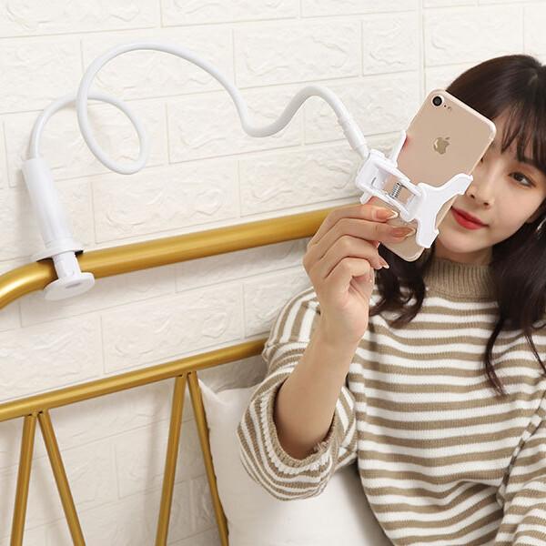 OMT OSA-JAB13 자바라거치대 핸드폰 거치대 화이트 상품이미지