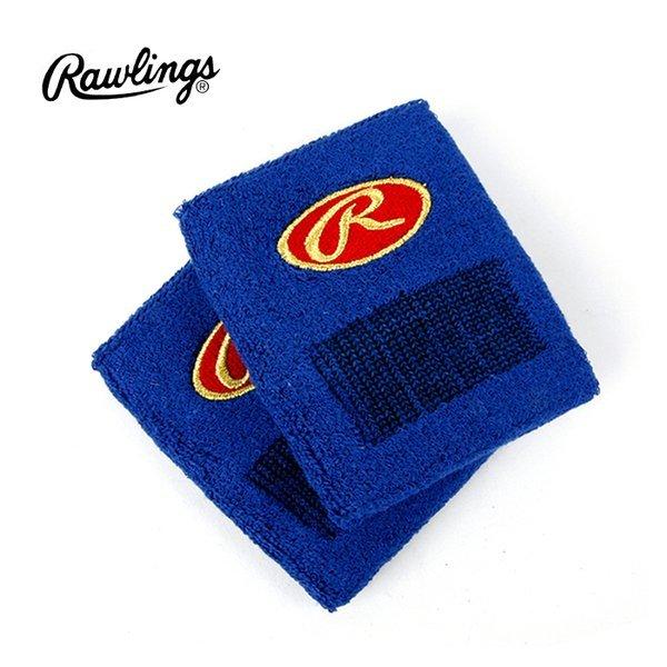 롤링스 야구 손목밴드(13A36) 블루 2개입 손목보호대 상품이미지
