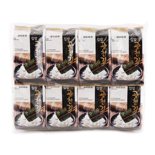 집밥 광천김 4x16봉 상품이미지