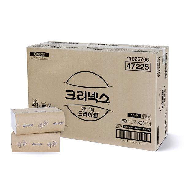 드라이셀 핸드타올 스마트 F250 5000매 47225 상품이미지