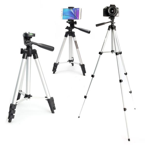4단 삼각대 카메라 핸드폰 디카 DSLR OCA-TP3110 실버 상품이미지